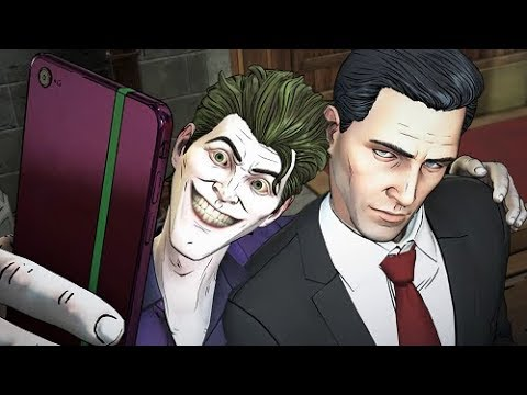 Taking a Selfie With Joker - All Options - BATMAN Season 2 The Enemy Within Episode 1: The Enigma