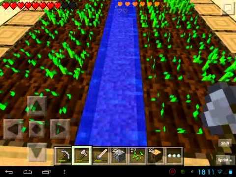 Первый LetsPlay часть 3 Как растёт пшеница