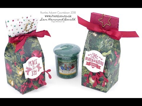 Pootles Advent Countdown 2018 #11 Yankee Candle Christmas Bag - วันที่ 29 Oct 2018