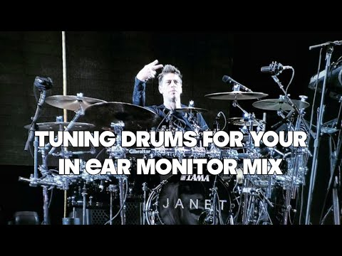 Tuning Drums For Your In Ear Monitors (IEM's) AND The Venue