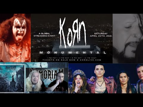 Korn livestream 'Korn: Monumental' - Power Trip interview - Chad Gray new song - Rob Zombie video