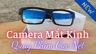 Review camera ngụy trang mắt kính quay phim cực nét @Quang Review