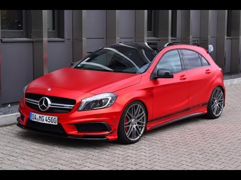 tuning mercedes benz a45 amg youtube. Black Bedroom Furniture Sets. Home Design Ideas
