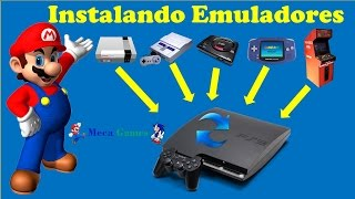 🎮 Como Instalar Emuladores no PS3 Desbloqueado e Colocar Jogos (Roms)