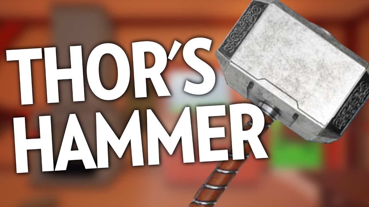 forge thor s hammer my little blacksmith shop youtube