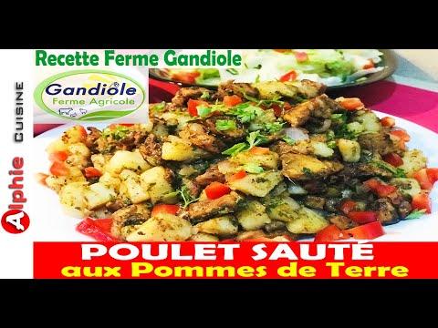 poulet-sautÉ-aux-pommes-de-terre---recette-facile-ferme-gandiole-!!!