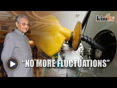 Dr Mahathir: No more fuel price fluctuations