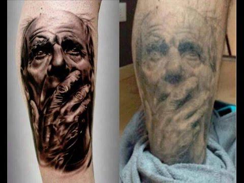 Tattoos fresh vs healed youtube for How to remove a fresh tattoo