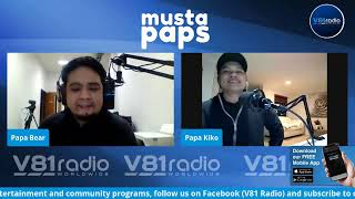 Musta Paps with Papa Kiko, Papa Bear and Doc F   HBOM