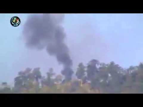 Air attacks in Kachin state