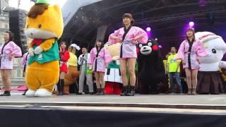 Japan Matsuri 2014, Gunma-chan Yurukyara ぐんまちゃん