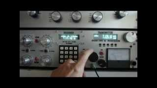 MY OLD ANALOG RECEIVER FOR HF BY IV3MUR ( VIDEO MADE ON 29/02/2012 )
