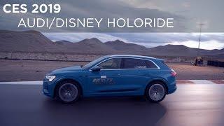 CES 2019 | Audi/Disney Holoride System | Driving.ca