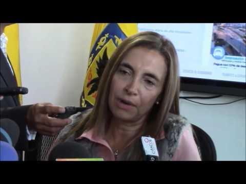 Secretaria de Hacienda habla sobre las finanzas de Bogotá