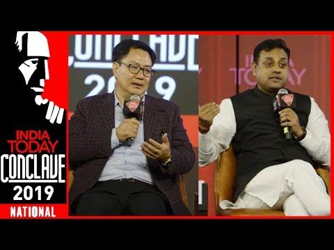 Is BJP War Ready? : Kiren Rijiju & Sambit Patra Exclusive At India Today Conclave 2019