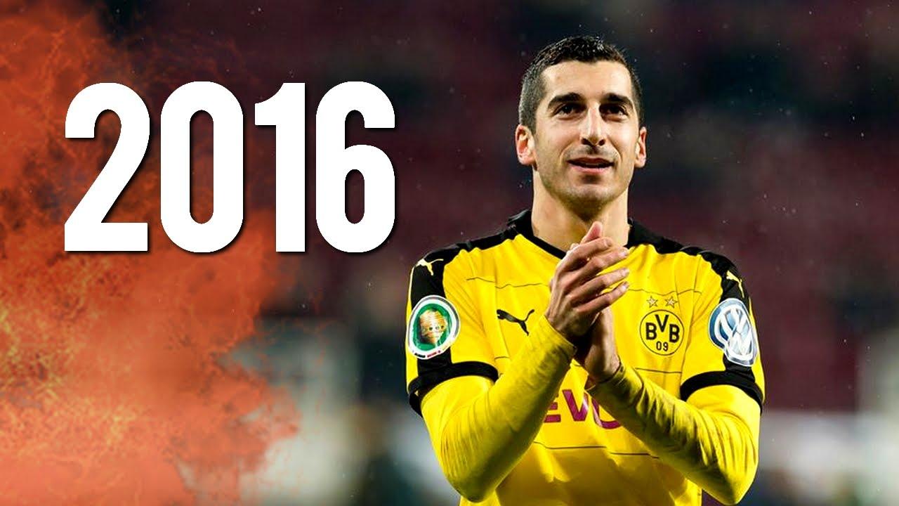 Henrikh Mkhitaryan Best Goals Skills & Assists 2015 2016