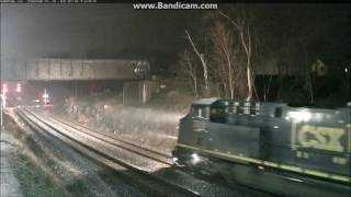 Nighttime Railfanning The New Shenandoah Junction Railcam