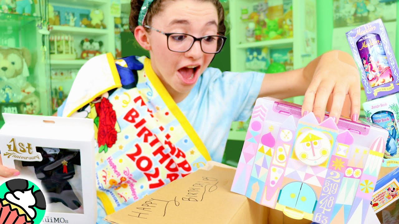 Birthday Mail Unboxing! Tokyo Disney Resort Popcorn Bucket, NuiMOs Outfits, Merch, & SO MUCH MORE!!