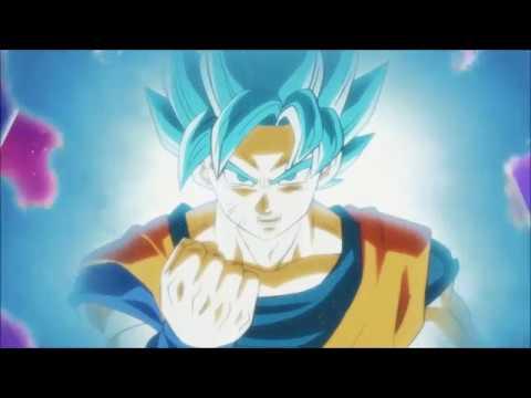 ドラゴンボール超 スーパーサイヤ人ブルー界王拳 悟空 Vs ベルガモ Youtube