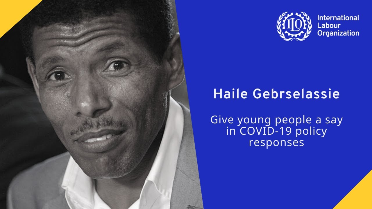 Haile Gebrselassie: Give young people a say in COVID-19 policy responses
