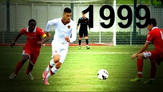 Gianluca Scamacca | Born 1999 | Skills & Goals | 1080p HD 2014(AS Roma striker, born in 1999, who are particularly in light of the past two seasons. He decided with a goal of both the Nike Tournament in March 2014 in the ..., 2014-09-08T18:12:13.000Z)