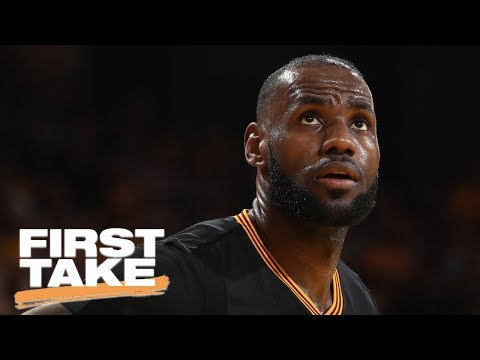 Magic Johnson And Jerry West Both Expected To Recruit LeBron James  First Take  June 21, 2017