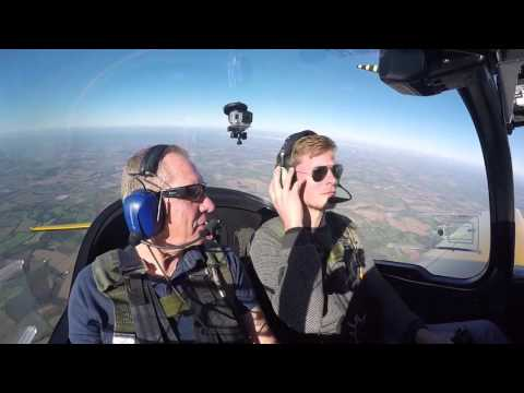 I took my Dad for some Aerobatics