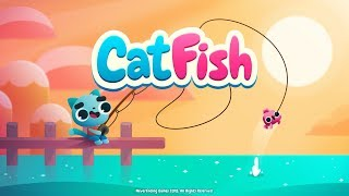 Играющий. Игра Cat Fish.Ловим редких рыб. Игры на телефон 2018.
