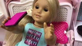 Video JoJo Siwa American Girl Doll - Day Routine download MP3, 3GP, MP4, WEBM, AVI, FLV Januari 2018