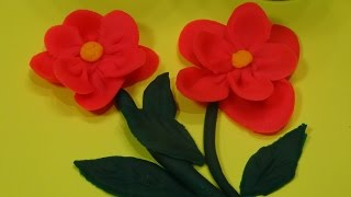 Play-Doh Flowers- Learn how-to Make Playdough Flowers!