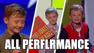 Ned Woodman Britain's Got Talent 2017 ALL Performances|GTF