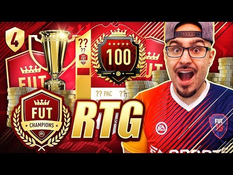 WTF 34 IN THE WORLD ON A RTG?! FIFA 18 Road To Fut Champions! Ultimate Team #04