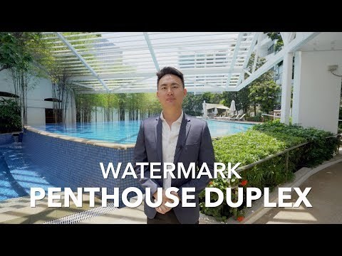 Singapore Condo Property Listing Video - Robertson Quay Watermark Penthouse Duplex For Sale