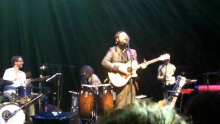 Iron & Wine - Innocent Bones live @ the Fillmore in Miami Beach