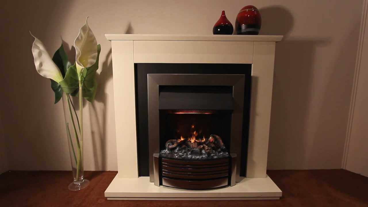 Dimplex Sacramento Opti-myst Electric Inset Fire - YouTube