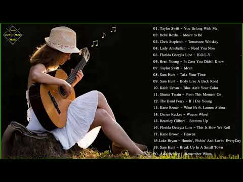 Acoustic Country Songs | Best Country Songs 2018
