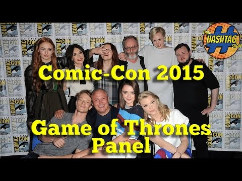 HBO's GAME OF THRONES Panel [San Diego Comic-Con 2015] w/ Sophie Turner, Gwendoline Christie & More