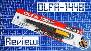 OLFA 144B Review/Обзор Макетный нож Японский