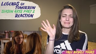 """Legends of Tomorrow Season 4 Episode 12 """"The Eggplant, The Witch, and The Wardrobe"""" REACTION Part 2"""