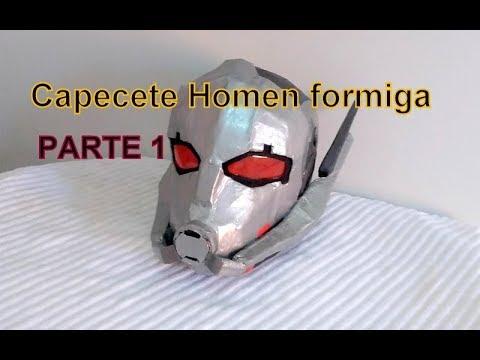 Como Fazer Capecete Homen Formiga Parte 1 Youtube