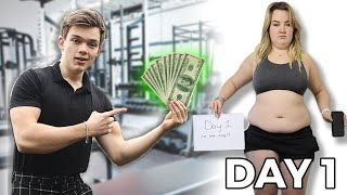 I challenged my sister to transform her body for $500