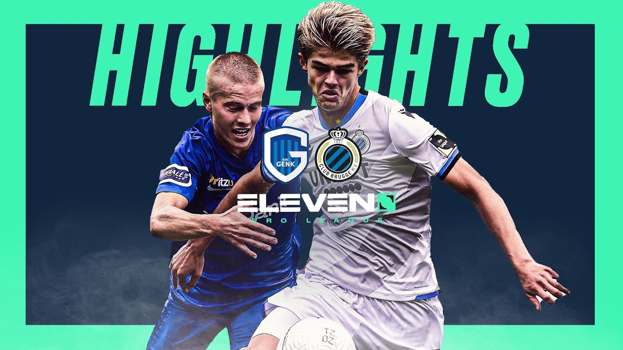 Krc Genk Club Brugge Moments Forts Youtube