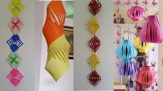 8 Easy Diwali Nd Christmas Decoration Ideas{Tutorial}#by Deep Panesar#A3 all about art