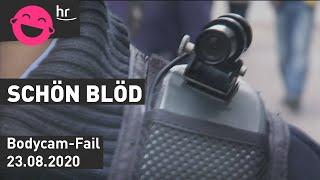 schönblöd – Polizeigewalt: Bodycam-Fail