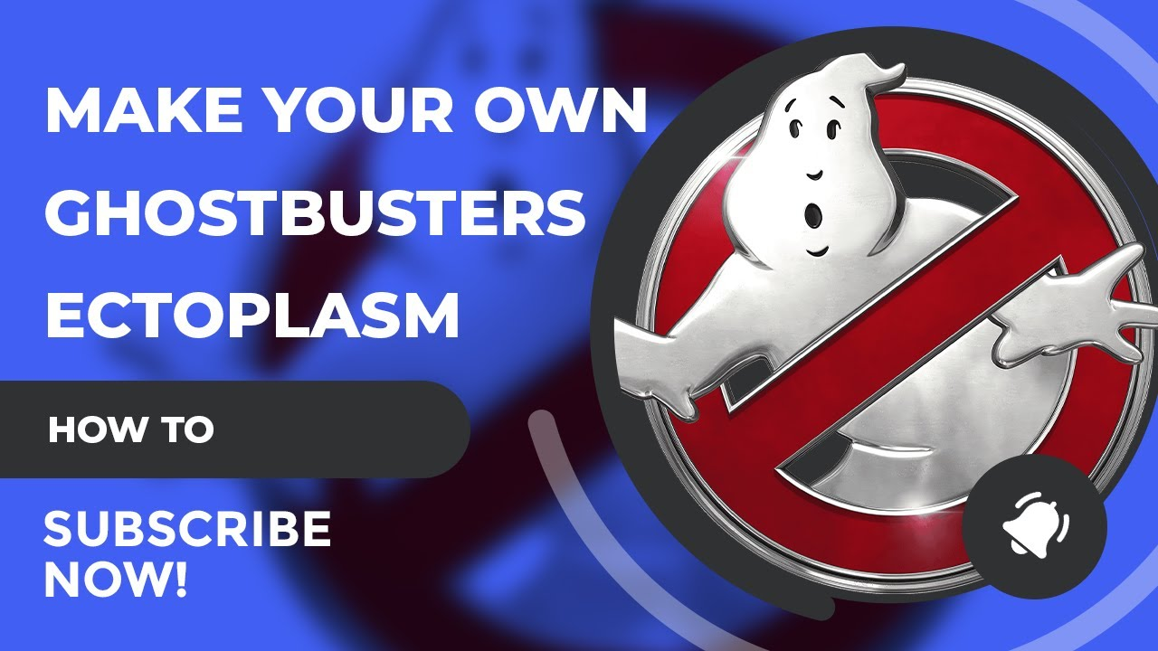 How To Make Ghostbusters Ectoplasm (Slime)