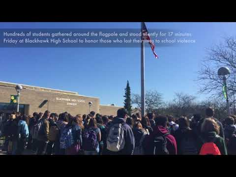 Event at Blackhawk High School promotes school safety