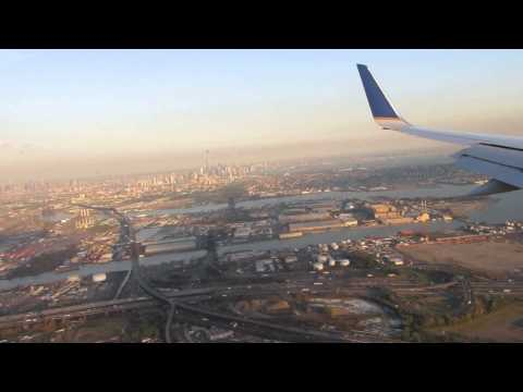 United Airlines - Boeing 757-200 - Landing in Newark Airport - New Jersey - EWR