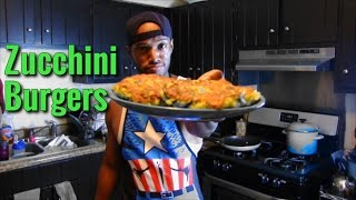 How To Make Zucchini Burgers - Low Calorie