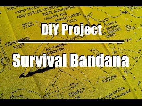 DIY Survival Bandana