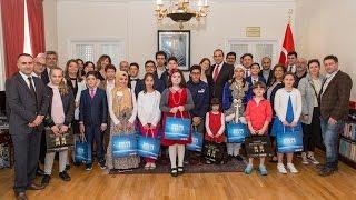 Londra'da Başkonsoloslukta 23 Nisan Etkinliği yapıldı.